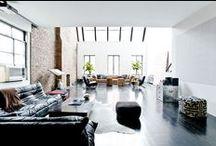 Loft Living / Stunning loft conversions. A girl can dream!