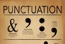 Punctuation / Commas, semi-colons, ampersand and more