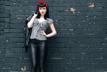 Rockabilly pinup / Style inspiration - pin-up and retro