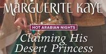 Claiming his Desert Princess / Hot Arabian Nights 4 Last in my Hot Arabian Nights quartet has an English spy and an Arabian princess. Release date April 2017. #spysheikh