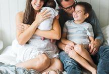 In-home family portrait ideas