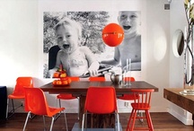 On the Wall / Ideas for displaying photographs.