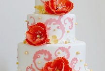 "Cakes for inspiration / These are not my cakes (my cakes are in an album ""wedding cakes from my portfolio""), but either I want to make them, or I like something on them!  I often recommend my brides-to-be to look at this board and see if there's something they like, so bear with me while I pin away!  :)"