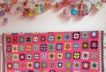 CROCHETED AFGHANS, BLANKETS, QUILTS / INSPIRE ME / by Barbara Worn