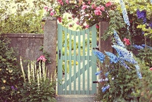 "Secret Garden / ""And the secret garden bloomed and bloomed and every morning revealed new miracles.""  / by Joy Slaats"