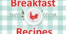 Breakfast Recipes / recipe, recipes, breakfast, southern, quick, easy, old, fashioned, vintage, sausage, bacon, eggs, biscuits, pinwheels, muffins, best, southern plate