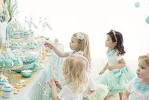 Teacups//Teaparties//Teacakes / For Jessica. Inspiration for our high tea shop!  / by Evangeline Marie