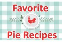 Favorite Pie Recipes / Favorite Pie Recipes from Southern Plate and around the web! pie, best, easy, quick, old, fashioned, recipe, recipes, simple, delicious , amazing