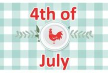 4th Of July! / Fun recipes for the fourth! 4th, 4, fourth, july, recipes, recipe, summer, red, white, blue, patriotic, patriot, america, americana, dessert, bbq, barbecue, cupcakes, pudding, trifle, cookies, jello, drinks, party, foods, food