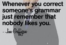 Grammar / Some funny grammar mistakes