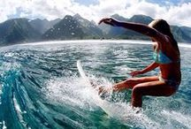 Surfing, Beaches, Breaks / Beautiful beaches, waves, and surf inspiration. Follow this board for surfing and water sports tips, beach travel and destination guides for planning your next beach vacation.