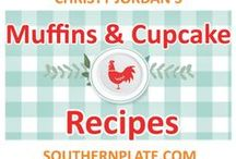Muffins & Cupcake Recipes / Muffin and Cupcake Recipes from SouthernPlate.com and around the web. muffin, muffins, recipe, cupcake, dessert, treat, baking, cookbook, cookbooks