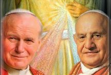 Saints John XXIII and John Paul II / Two popes proclaimed saints on  April 27, 2014, in Vatican City - an example for all