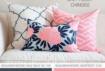 Fabric Ideas / Fabrics Combination ideas