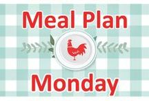 Meal Plan Monday! / food, recipes, meals, supper, plan, planning, family, dinner, easy, quick, budget, shop, list, roundup, collection, best, simple,