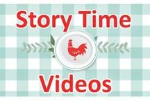 My Story Time Videos / Story time videos for kids!  Story, book, reading, literacy, children, child, kids, fun, bed, time, stories