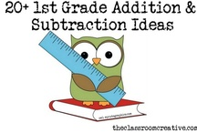 First Grade Math / by The Classroom Creative