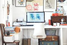 Desks and Workspaces / by Alison Harshbarger