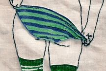 embroideries / by tichtach