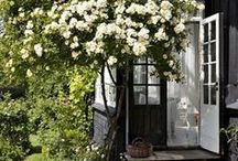 gardening decor / inspiration for inside and outside design of my allotment (kolonihave)
