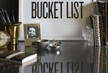 Bucket List / by Danielle D.