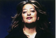 ZAHA / Zaha Hadid is an architect who experiments with new spatial concepts intensifying existing urban landscapes in the pursuit of a visionary aesthetic that encompasses all fields of design, ranging from urban scale through to products, interiors and furniture.  Zaha is the first woman to win the Pritzker Prize for architecture in its 26 year history. Enjoy pinning and invite friends to pin along with you. / by Joan Robins