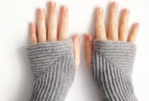 crochet + knit: mittens