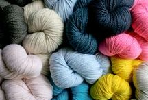 yarn + colors / nice yarns and combos  / by tichtach