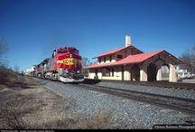Trains ~ Track ~ Depots / by Elaine Higgins