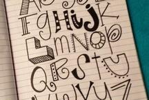 Fonts & Doodles / by Danielle D.