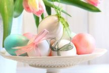 Easter / Easter bunnies and chocolate
