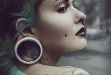 Body modifications / Tattoos, piercings, suspension, scarification, and other lovely ways to express yourself on your skin