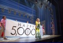 MAMMA MIA! Broadway 5,000 Performances Celebration / Mamma Mia! Broadway celebrated 5,000 performances at its new home at The Broadhurst Theatre with a special performance on November 9th 2013.