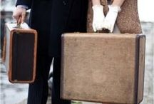 Vintage Luggage / by LuxeInACity - Luxury & Travel