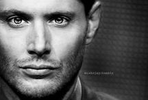 Because Jensen Ackles / This guy... daymn. He's trying to compete with David Tennant in the cute/sassy/sexy category, and holding his own. LOL! / by Sue Meredith