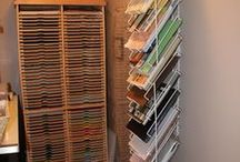 My Craft Room / Storage ideas for Scrapbooking