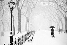 Winter wonderland / Things I love about winter.