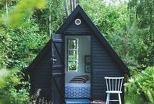 Cabin in the woods / Into to the woods and the solitude in nature with only the sounds of your own heart and the sound of nature