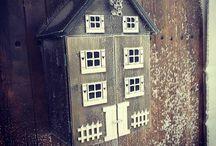 Schnappskassa Koie / Veldig stilig barskap til hytteveggen, låven, eller kanskje vinterhagen.