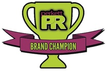 Brands We Love / PerkettPR's Brand Champion Series can be viewed on our Facebook page at https://www.facebook.com/perkettpr