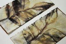 textile / paper diy design