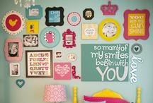 Perlimpinpin ♥ les murs animés / fun wall decor / by Perlimpinpin :  Saisir l'émotion