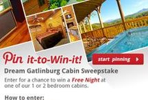 Pin-Win Sweepstakes / Win a Free Night at one of our 1 or 2 bedroom cabins in the Smoky Mountains. / by Cabins Of The Smoky Mountains