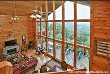 4-Bedroom Cabins in Pigeon Forge / Luxury 4-bedroom rental cabins in Pigeon Forge, TN. 3-5 baths, hot tub on deck, jacuzzi, game room, home theater, mtn views. Sleep 10-16 but call us 24/7 at 855-95-SMOKY, let us match the cabin to your needs. http://www.CabinsOfTheSmokyMountains.com / by Cabins Of The Smoky Mountains