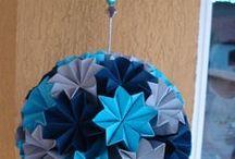 Origamis Amanda / Arte da minha sobrinha e afilhada amada.