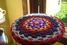 Meus Crochês- My Crochet / Gosto de ver a delicadeza do crochê tomando forma, isso me dá imenso prazer.
