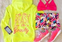 Fashionable Fitness / All things CUTE while working up a sweat!