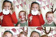 Perlimpinpin ♥ photobooth de Noël/Christmas photo booth / Du plaisir devant l'objectif! ♥♥♥♥♥♥♥ A lot of fun in front of the lens! / by Perlimpinpin :  Saisir l'émotion