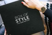 Box Of Style / Our seasonal style obsessions, curated for you. Sign up at http://thezoereport.com/shop/ / by The Zoe Report