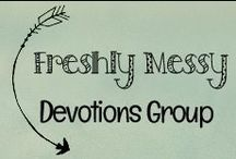 Freshly Messy Devotions & Sharing with Jesus / This group board caters to devotions with an emphasis on guiding our children toward a Christ-centered positive self-image and strong moral values. Please only pin your own topics from a direct link to a blog or website you have created. If you would like to be added as a group board contribute, please contact http://www.freshlymessy.com/ or http://www.facebook.com/freshlymessy.